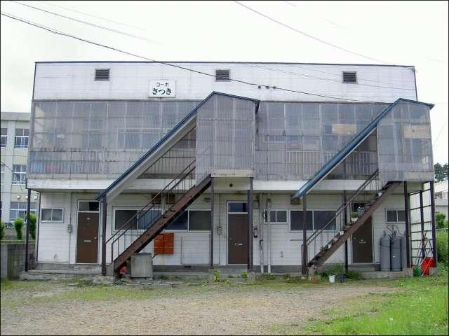 アパート 青森県 青森市 新城平岡 コーポさつき 2K
