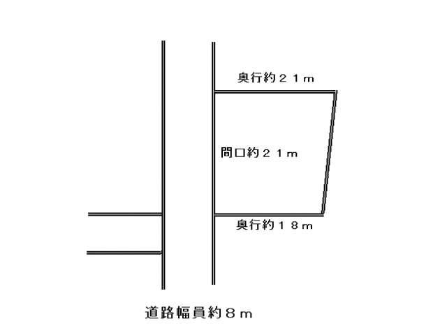 売地 青森県 北津軽郡板柳町 福野田字実田