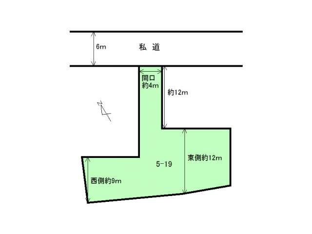 売地 弘前市原ケ平2丁目 原ケ平2丁目売地 メイン画像