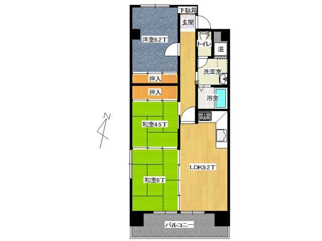 マンション(分譲) 弘前市城東中央3丁目 ミリオンパレス メイン画像