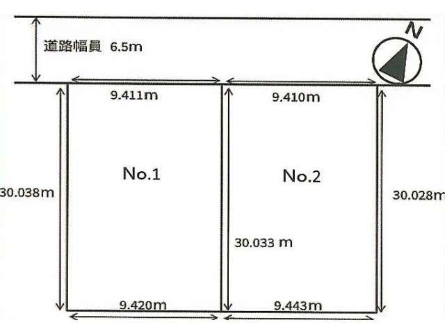 売地 青森県 青森市 浜館4丁目5-21 浜館4丁目 売地①②