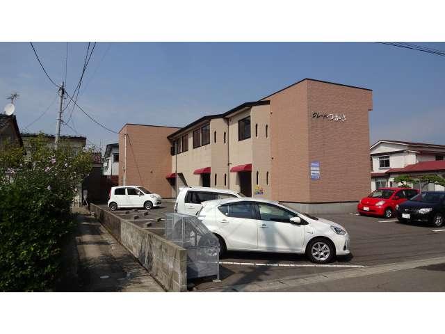 アパート 秋田県 由利本荘市 中竪町47 グレートつかさ 1DK