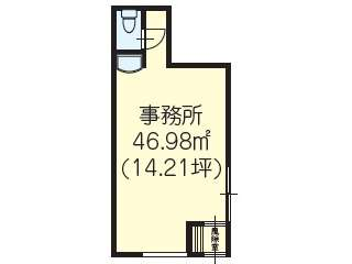 事務所 青森県 青森市 松原3丁目 横山アパート
