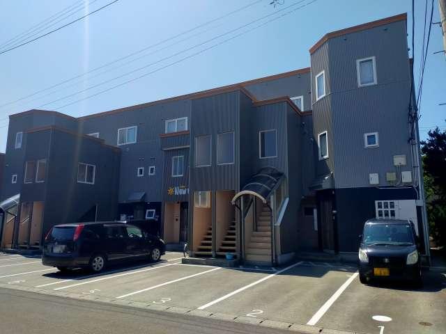 アパート 青森県 青森市 富田3丁目 ニューワー 1LDK