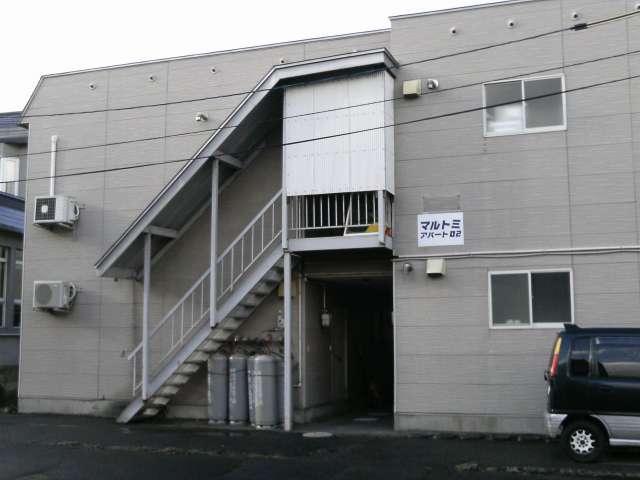 アパート 青森県 青森市 中央4丁目4-8 マルトミアパート02 1R