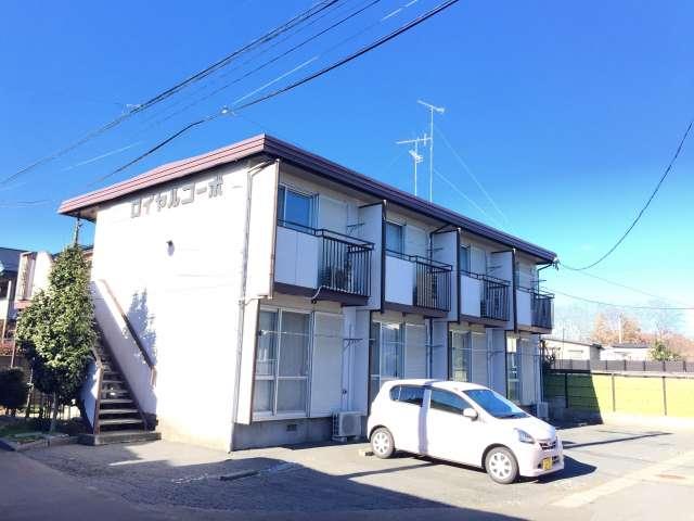 アパート 青森県 八戸市 糠塚字平中 ロイヤルコーポ 1K