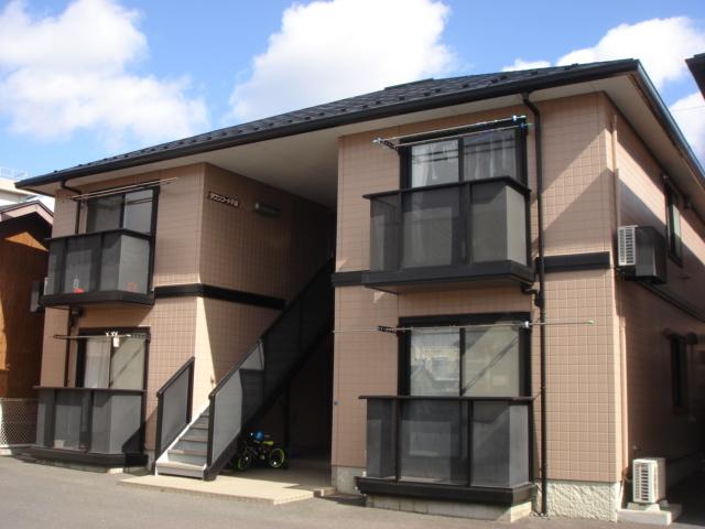 アパート 青森県 八戸市 下長一丁目3-23 タウンコート下長D 2DK