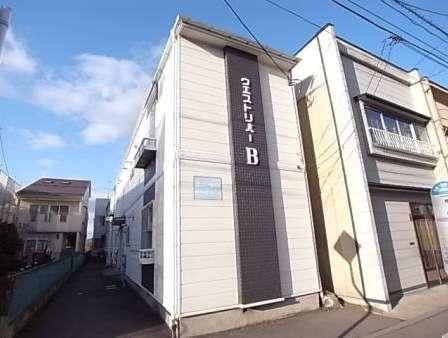 アパート 青森県 八戸市 荒町8 ウェストリバーB 1K