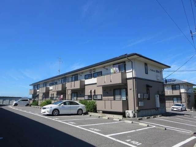 アパート 青森県 八戸市 新井田字鷹清水4-1 ハイカムール鷹清水B 2K