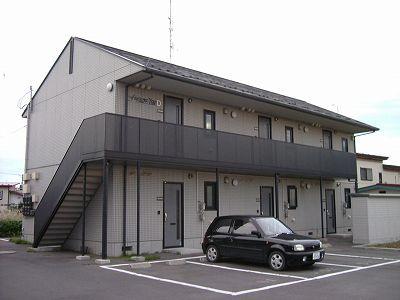 アパート 青森県 八戸市 河原木字小田上10-1 フレグランス・ユーD 2DK