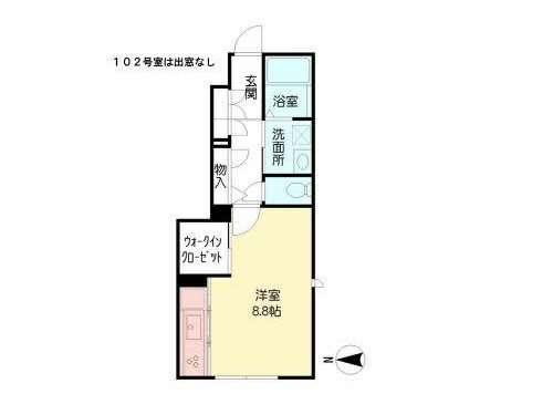アパート 青森県 八戸市 上組町52-1 シャーメゾン ラウレア 1R