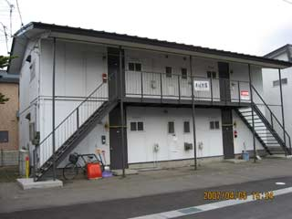 アパート 青森県 青森市 浪館前田3丁目 おばま荘 2DK