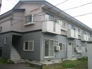 アパート 青森県 青森市 石江岡部 ピュアハウス1 2DK