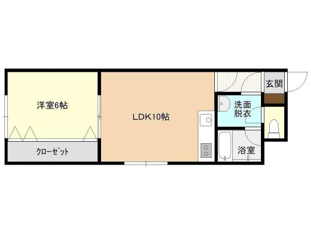 マンション 青森県 青森市 久須志三丁目 ホワイトピジョン 1LDK