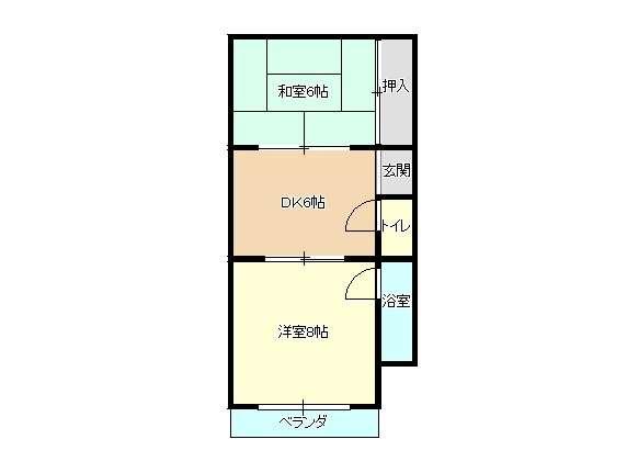 アパート 青森県 青森市 堤町2丁目 おさないマンション 2室