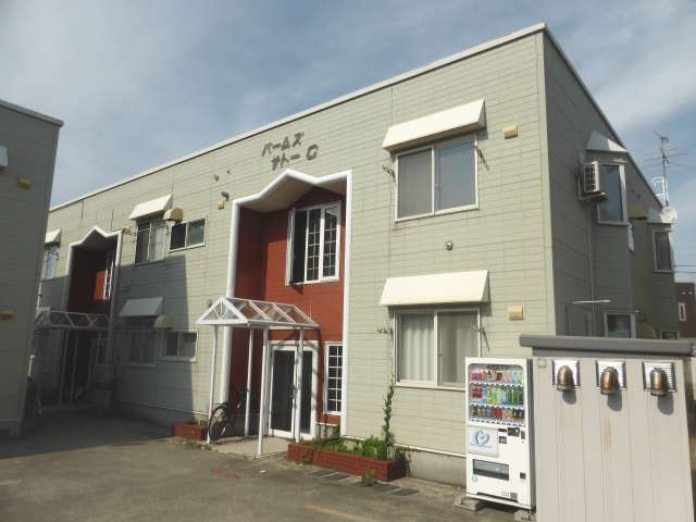 アパート 青森県 青森市 浜田玉川 パームズサトーC 1K
