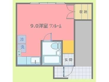 アパート 青森県 青森市 中央1丁目 プリモ920 1R