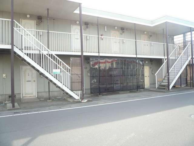 アパート つがる市柏桑野木田千年 ダイアハウス柏 1K