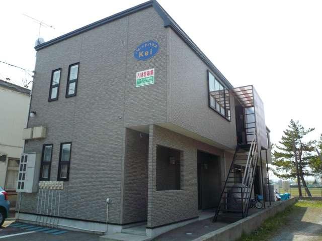 アパート 五所川原市石岡字藤巻 パレットハウスKei 1K