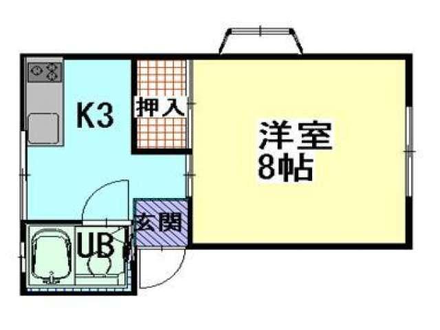 アパート 青森県 青森市 石江岡部54-6 リブハウス 1K 画像2