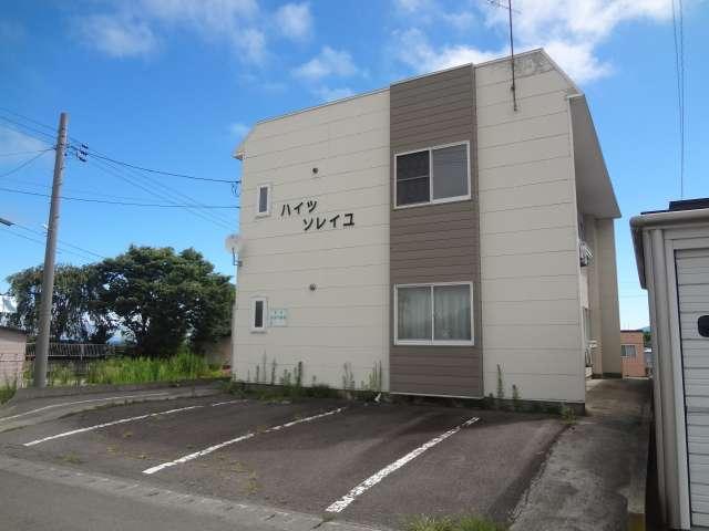 アパート 青森県 青森市 新城字平岡258-456 ハイツソレイユ� 1LDK 画像1