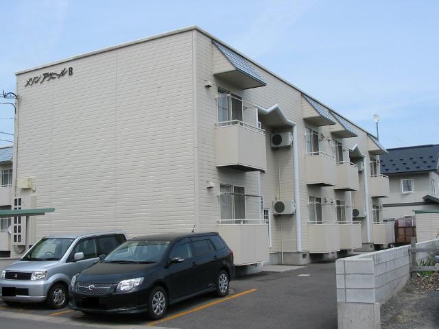 アパート 青森県 弘前市 末広2丁目 メゾン・アヴニール B棟 1R