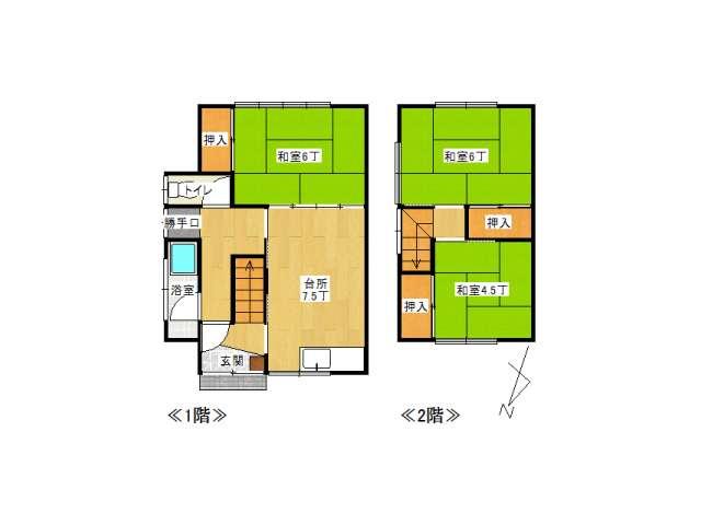 戸建 弘前市堅田3丁目「みのりコーポ」1号室 メイン画像