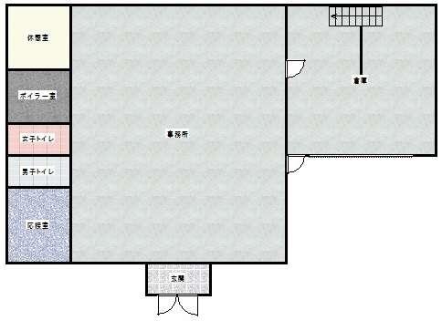 事務所 弘前市小比内5丁目「小比内 丹藤貸事務所」 メイン画像