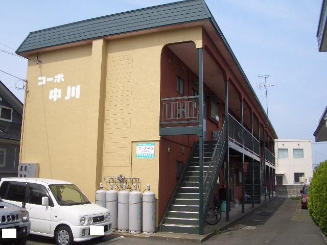 アパート 弘前市高田1丁目「コーポ中川」2DK