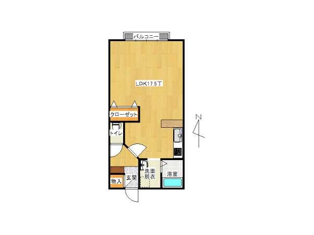 アパート 弘前市境関1丁目「おしゃれはうす3」B205号室 メイン画像