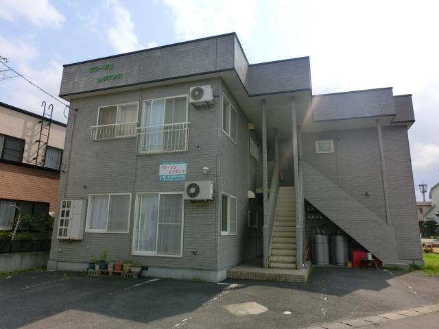 不動産詳細-アパート 弘前市取上4丁目「グレージュレジデンス」2DK