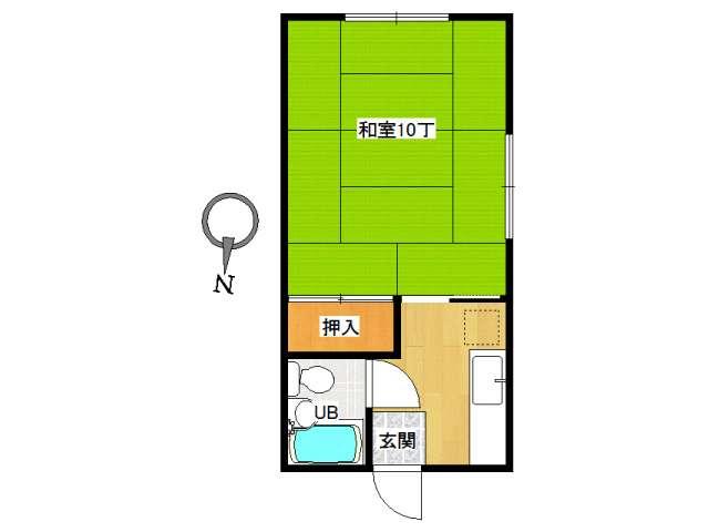 アパート 弘前市城東中央4丁目「コーポ高光」201号室 メイン画像