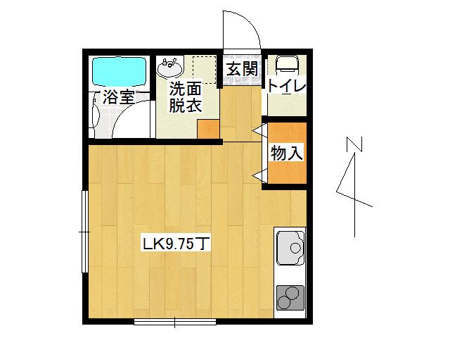 アパート 弘前市石渡2丁目「コーポ土谷」106号室 メイン画像