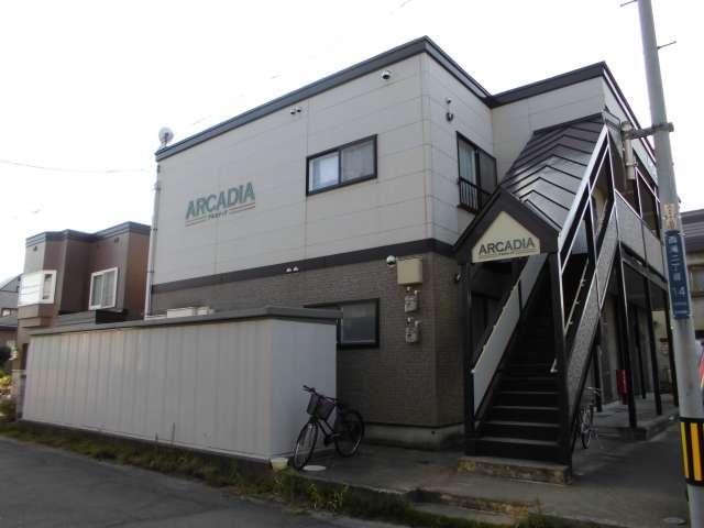 アパート 青森県 青森市 西滝2-14- アルカディア 2DK