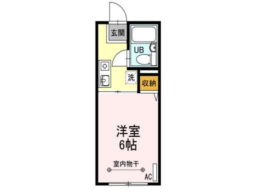 アパート 青森市長島4丁目 ベル・エポック 1K