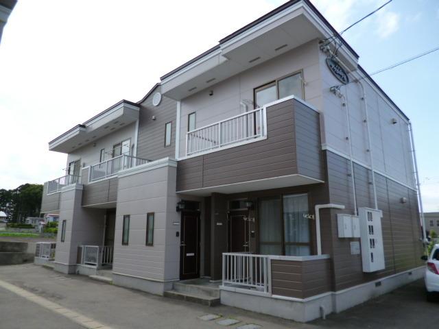 アパート 青森市三内沢部 メゾンアウローラ B棟 2DK
