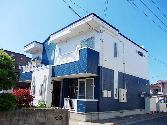 アパート 青森市浪館志田 サンモリッツⅡ 2DK