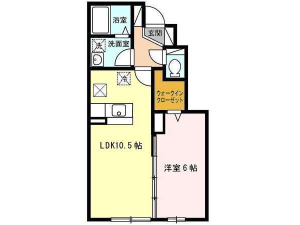 アパート 青森市緑1丁目 グランモア緑Ⅱ 1LDK