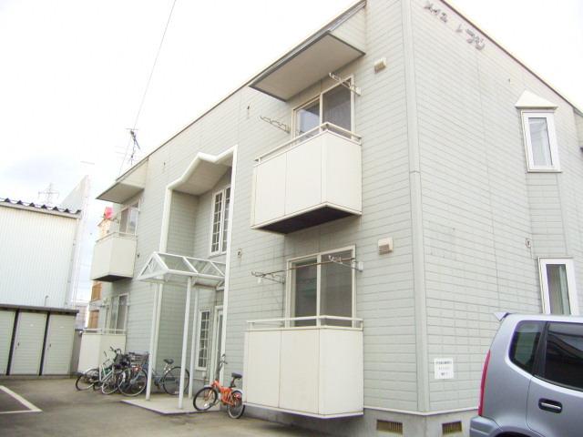 アパート 青森市浜田玉川 メイユールフジ 1K