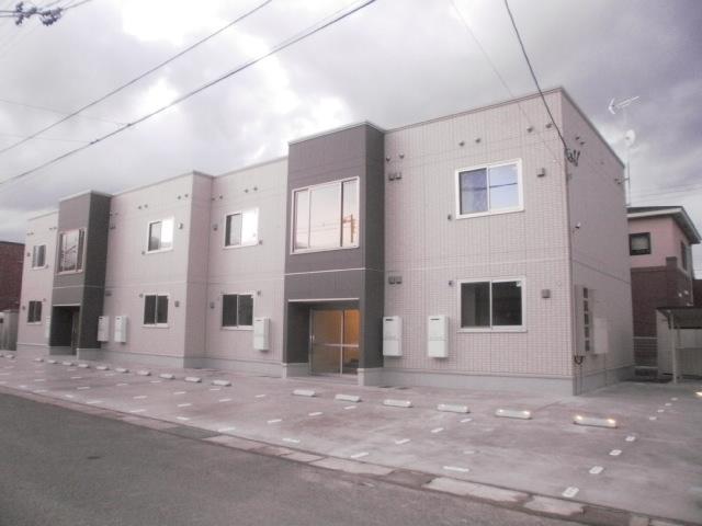 アパート 青森市浜田2丁目 ライトキューブ 2LDK