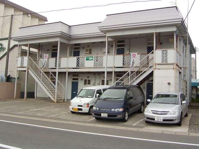 アパート 青森市三内玉作 コーポ504 1K