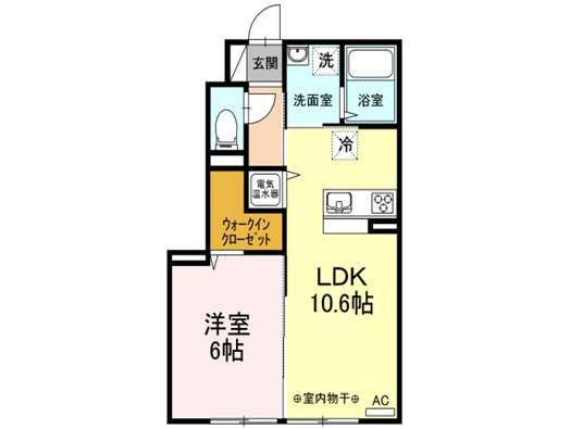 アパート 青森市篠田2丁目 (仮)Droom篠田 1LDK