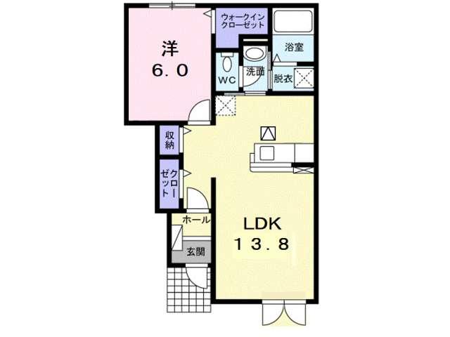 アパート 青森市西滝1丁目 ザウバーK3 1LDK