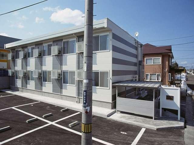 アパート 青森市自由ケ丘2丁目 レオパレス ロワール自由ヶ丘 1K