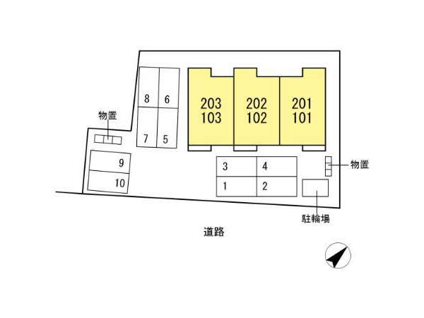 アパート 青森市沖館3丁目 (仮)Droom沖館3丁目 2LDK