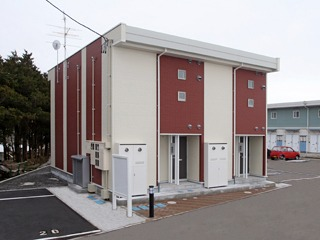 アパート 青森県 黒石市 角田23-1 アズール2 1K