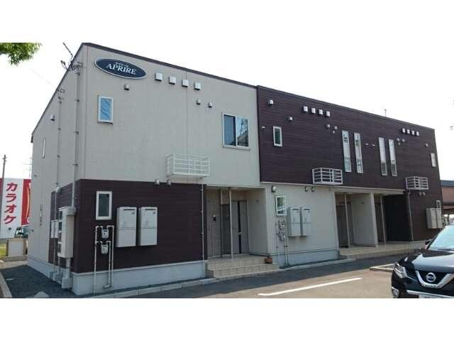 アパート 青森県 五所川原市 烏森560 アプリーレ 1LDK