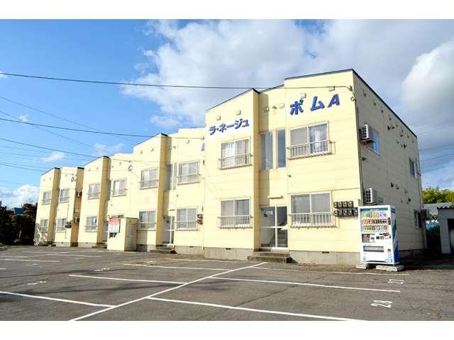 アパート 青森市幸畑字松元 ラ・ネージュポムD 1R