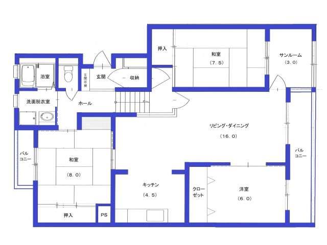 マンション 青森県 青森市 桜川7丁目3-13 エミグランド・パル 3LDK