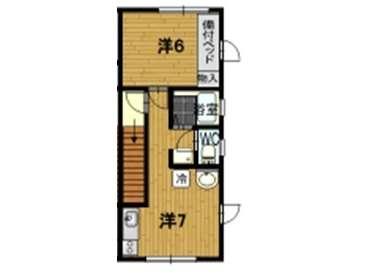 アパート 青森県 青森市 浪岡浪岡平野 グリーンパレス 1R